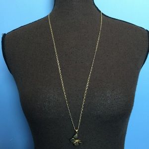 J. Crew Jewelry - 3 FOR $30 J Crew Gold Tone Butterfly Necklace